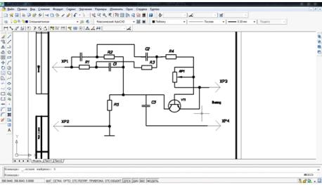Рисунок 1.1 - Разработка схемы