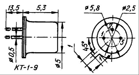 Термодатчики К1019ЕМ1